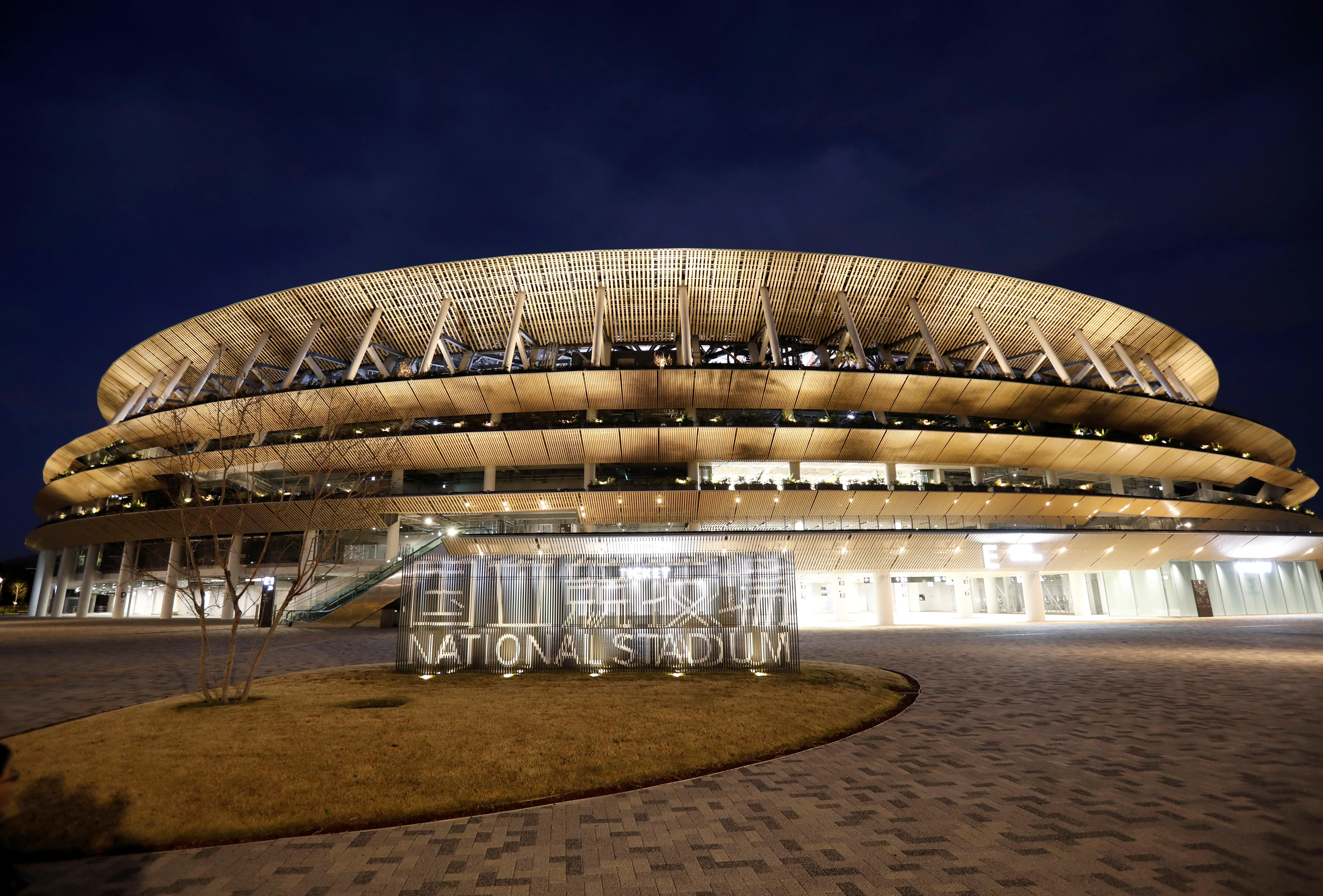 стадіон токіо олімпіада