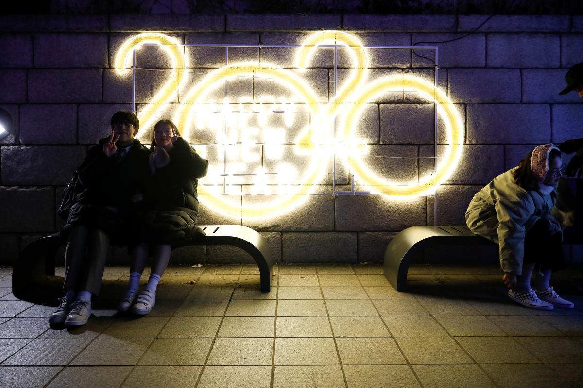 Новый год в мире 2020