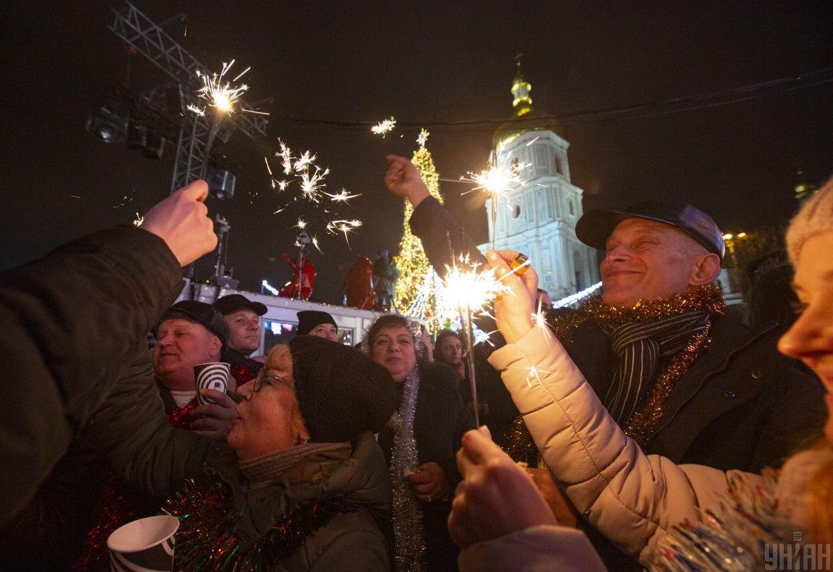 київ новий рік