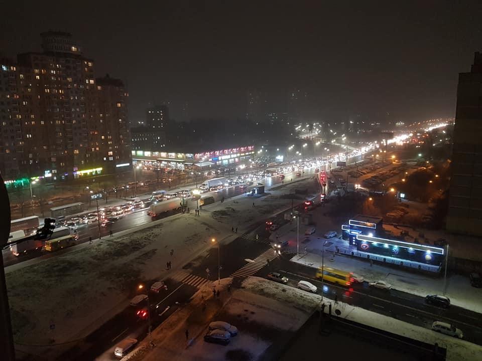 Київ сніг зима