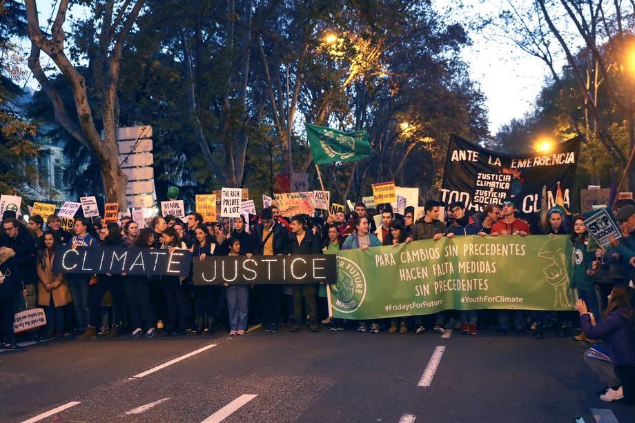 Марш за клімат Мадрид
