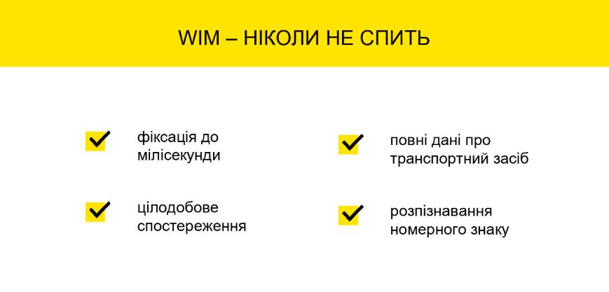 WiM Зважування в русі