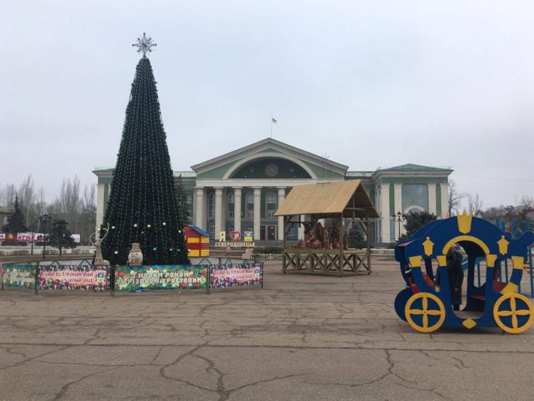 новорічна ялинка в регіонах україни