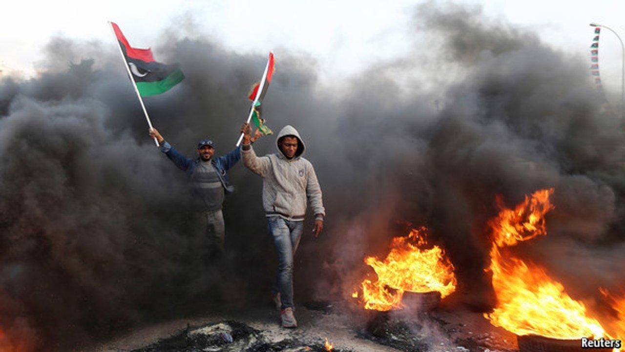 війна Лівія