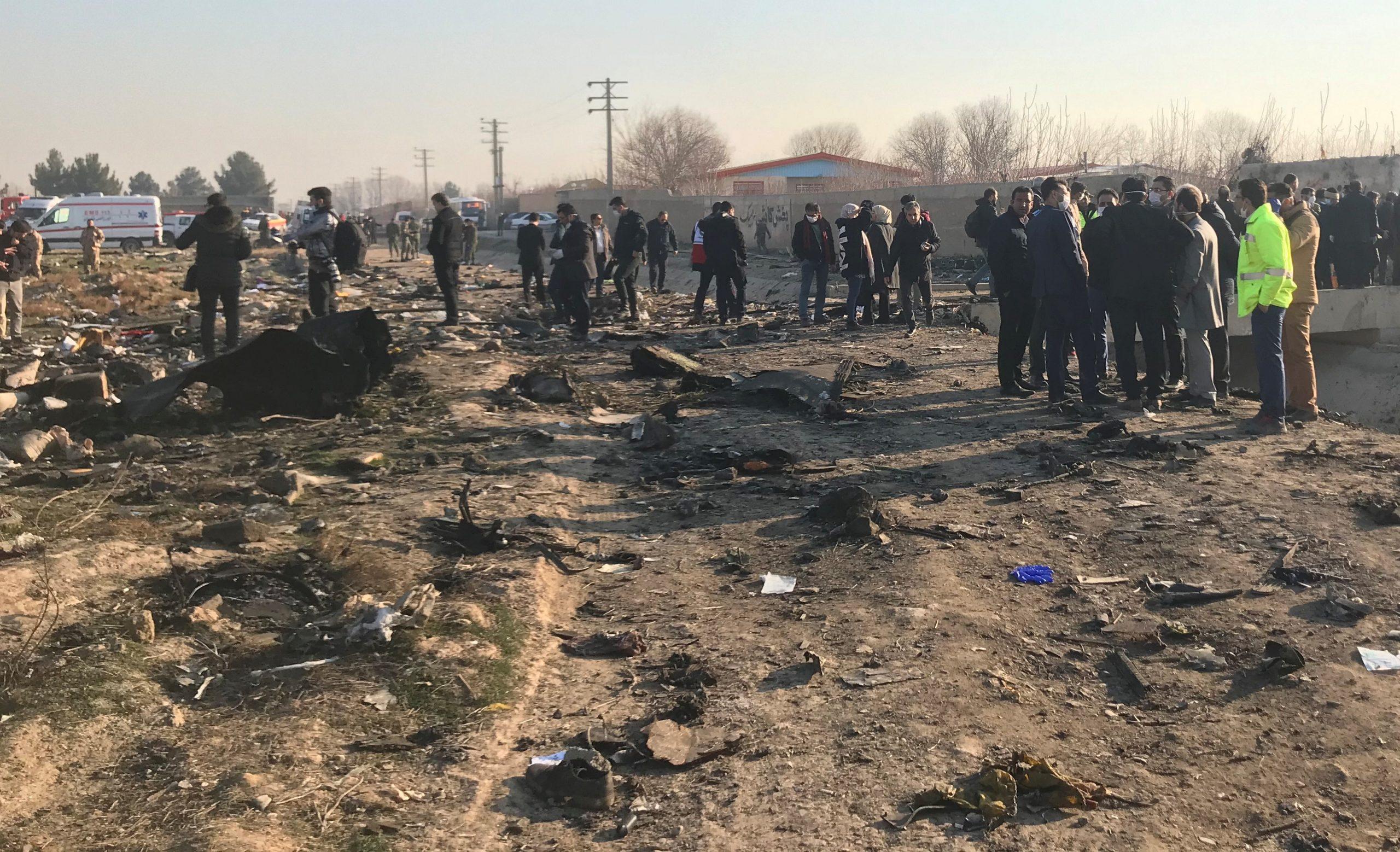 літак МАУ розбився Іран