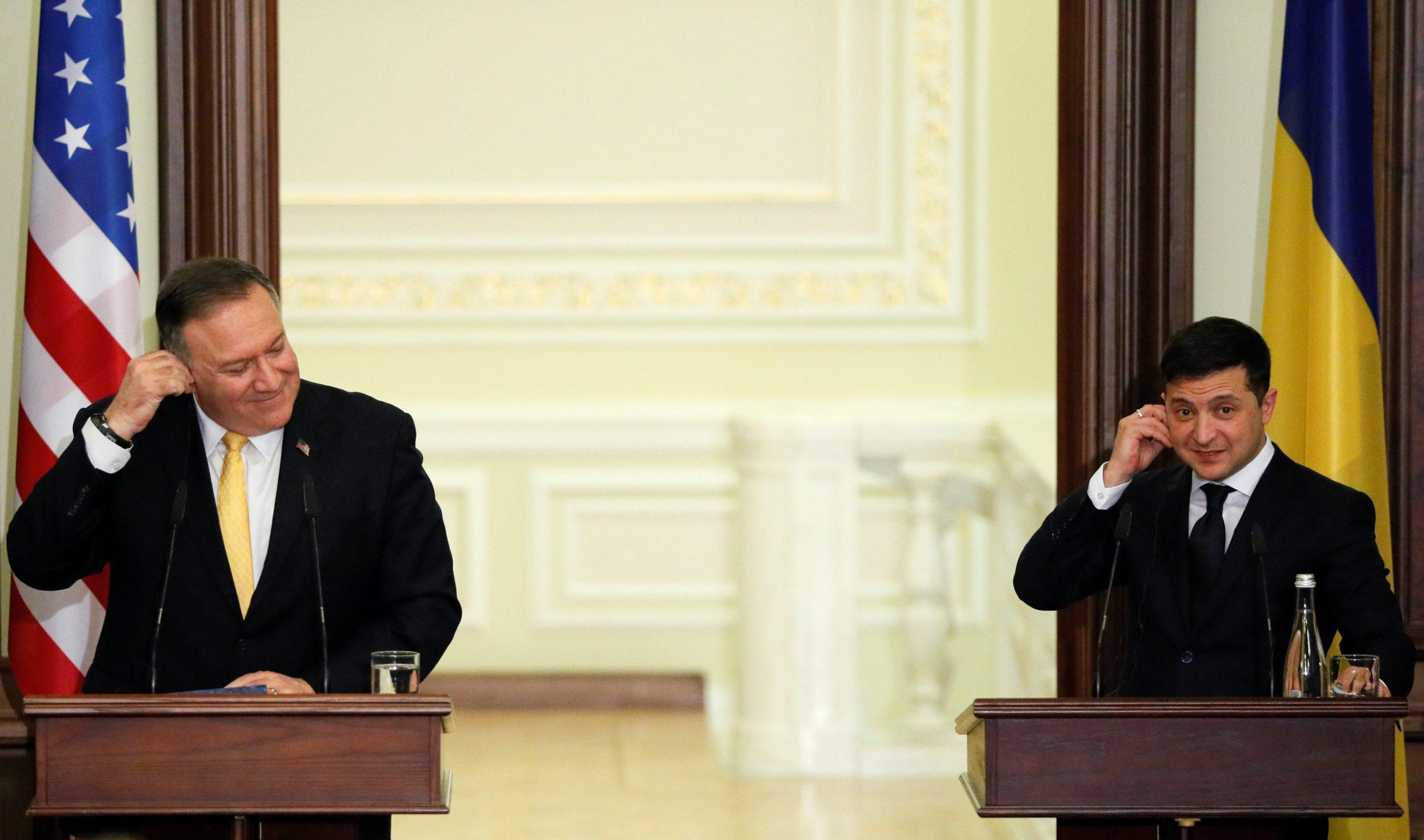 Помпео в Киеве