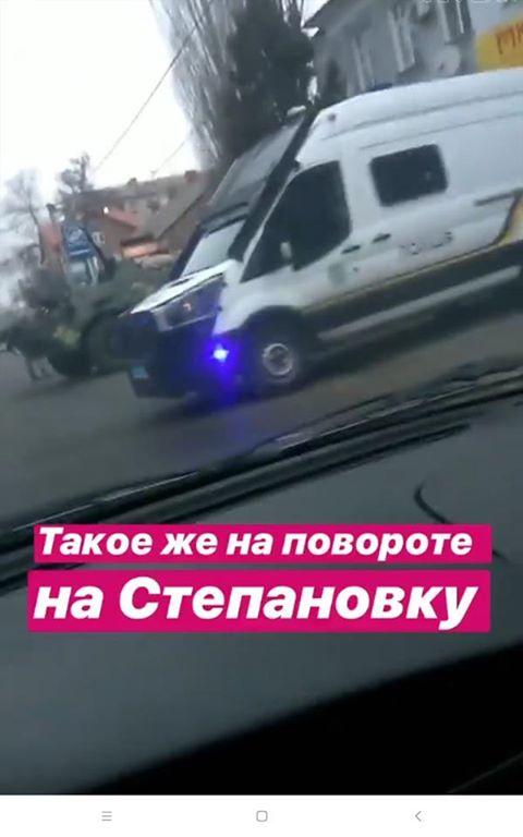 БТР в Херсоне Гандзюк
