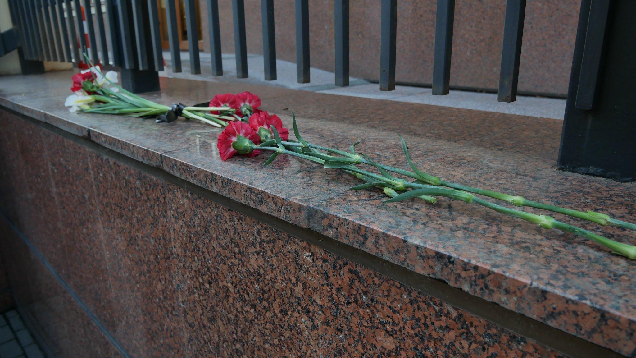посольство канади квіти