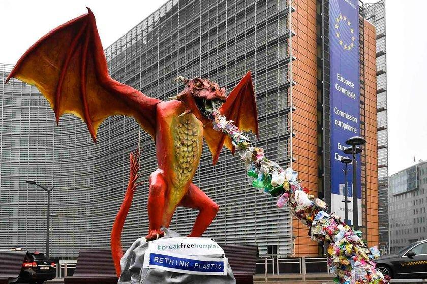 дракон сміття ЄС