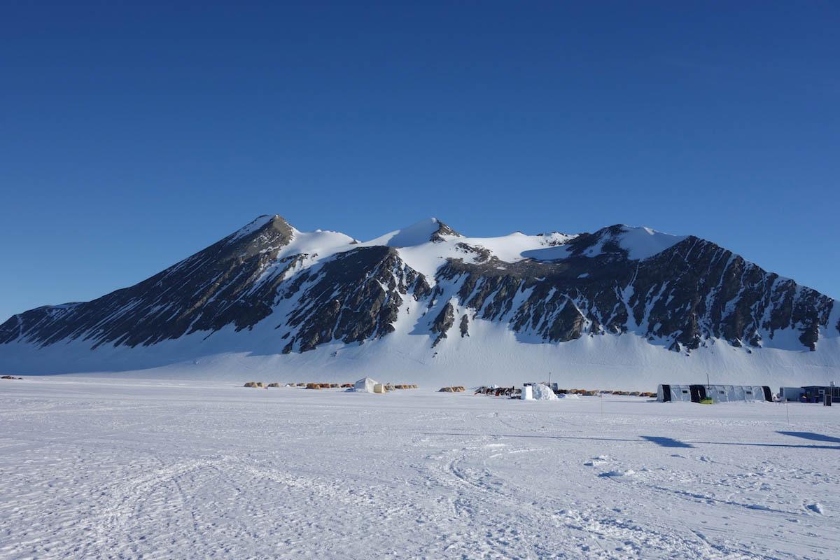 гора Вінсон Антарктида