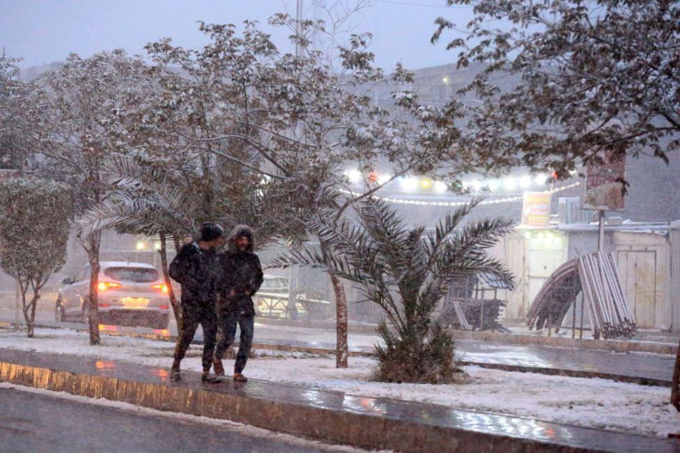 Багдад вдруге за 100 років накрив сніг