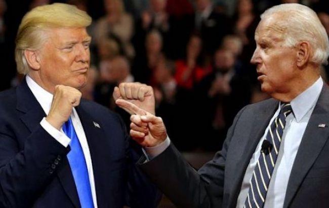 Дональд Трамп та Джо Байден
