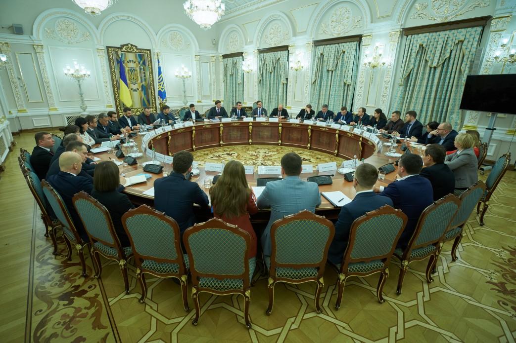 Зеленський заслухав звіт уряду щодо виконання указів Президента