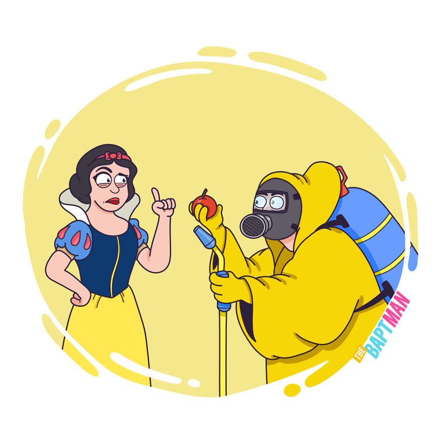 Белоснежка и пестициды