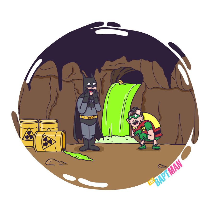 Бэтмен и захоронение ядерных отходов