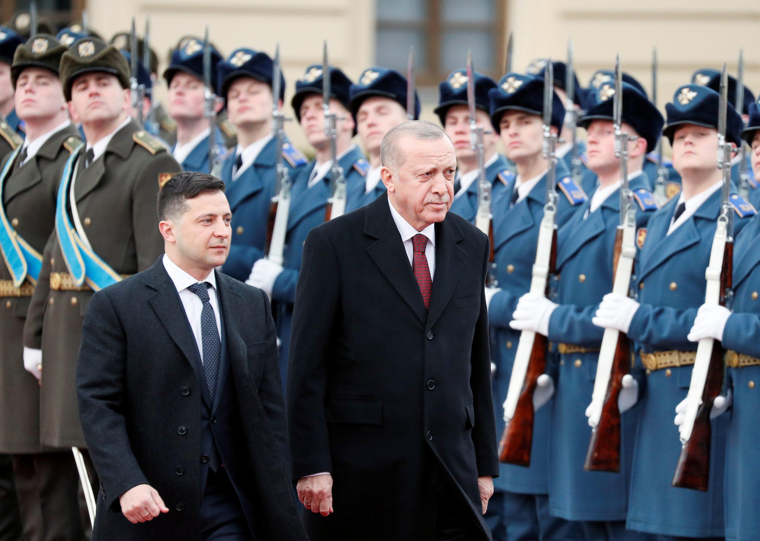 Зеленський та Ердоган в Києві