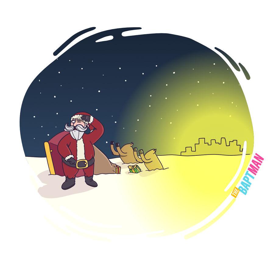 Санта Клаус и загрязнение