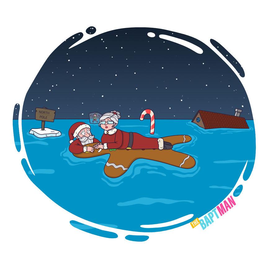 Санта Клаус и глобальное потепление