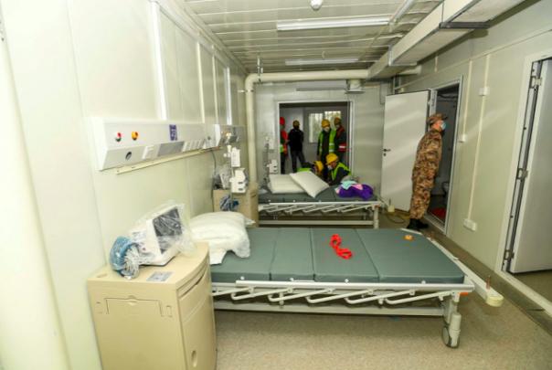 коронавирус больница Ухань Китай