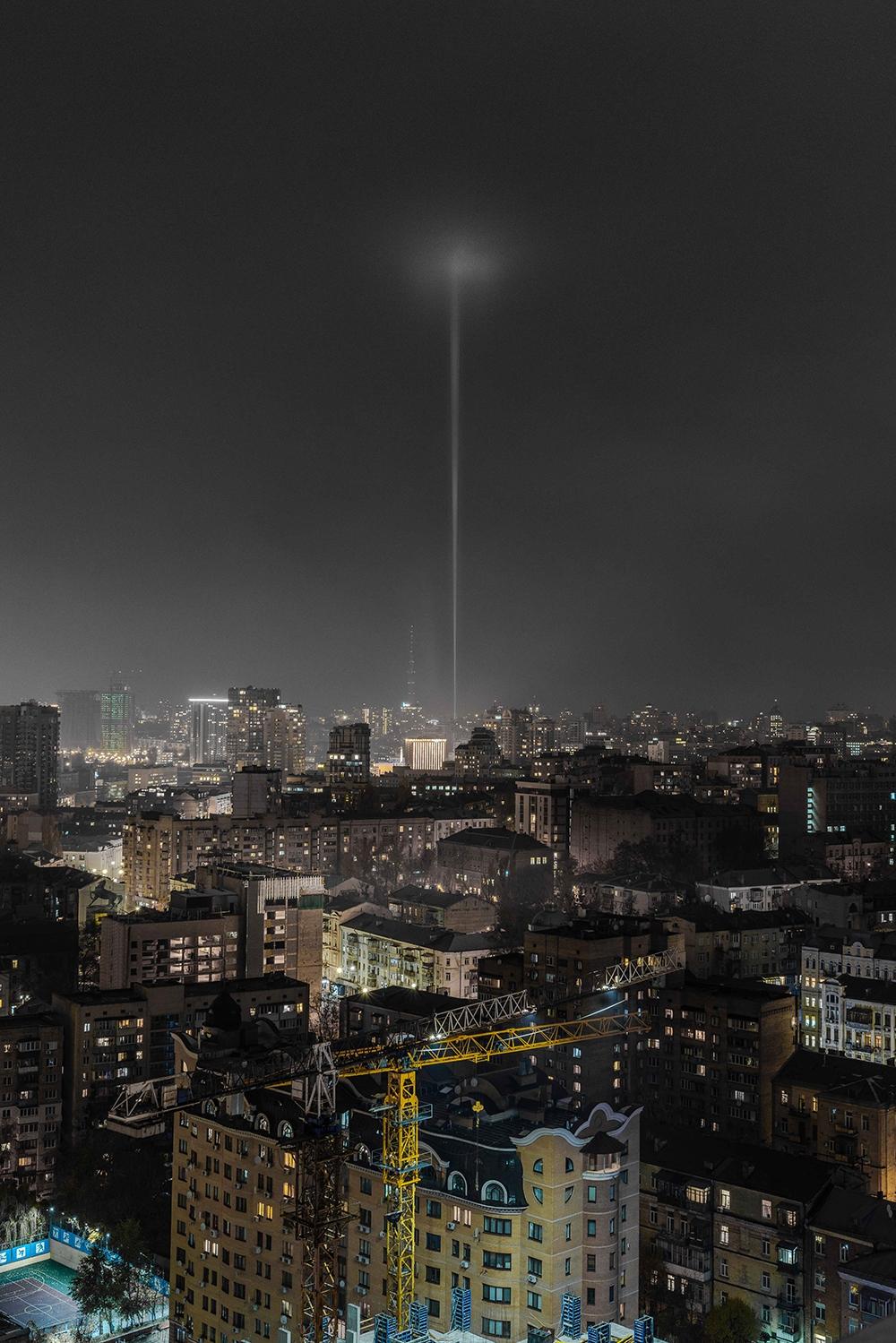 Труба-маяк Киева