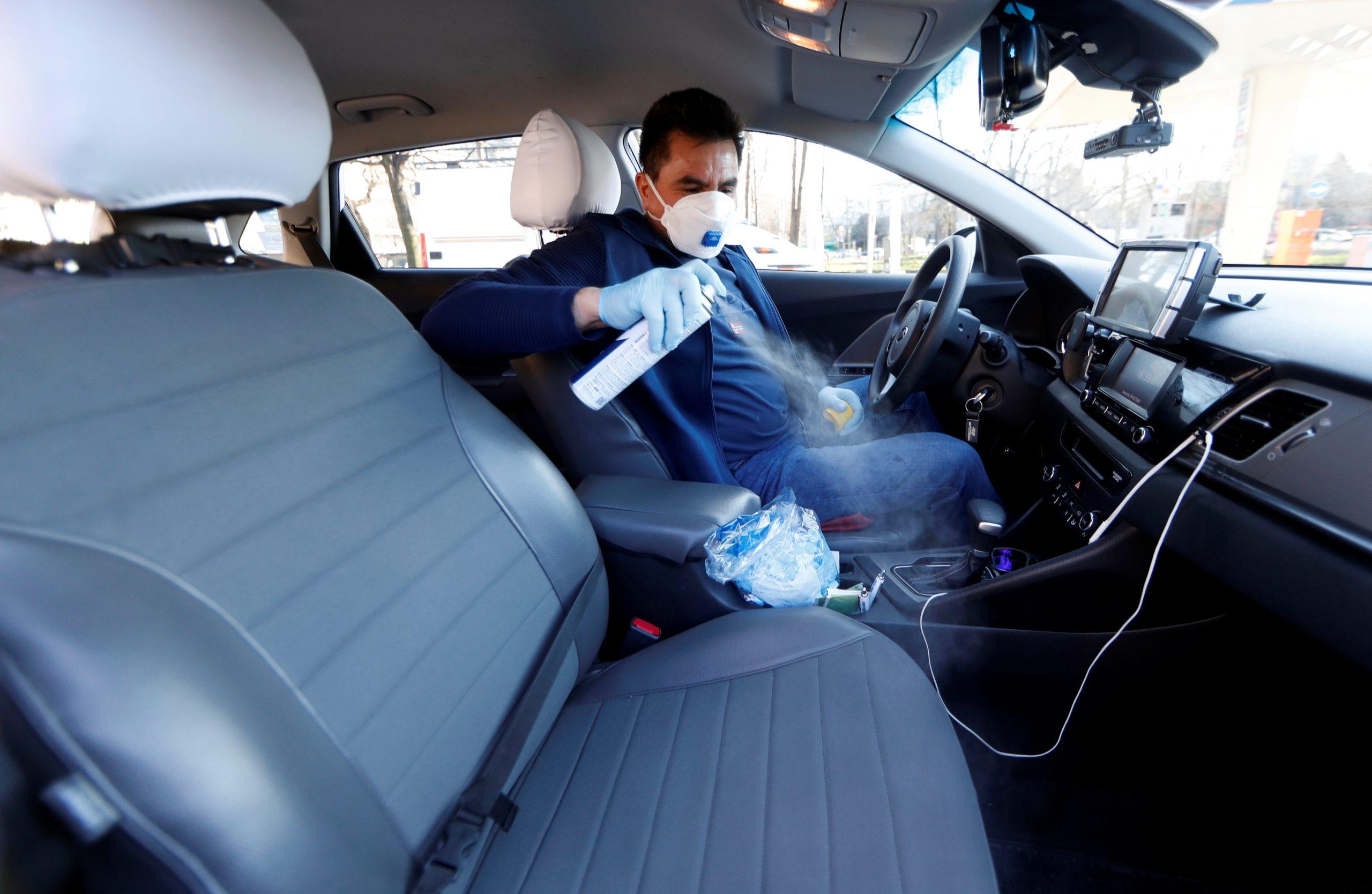 таксі карантин коронавірус