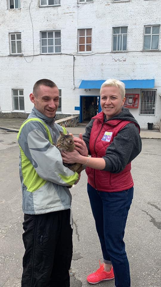 У Бучі в'язні будуть доглядати за бездомними котами