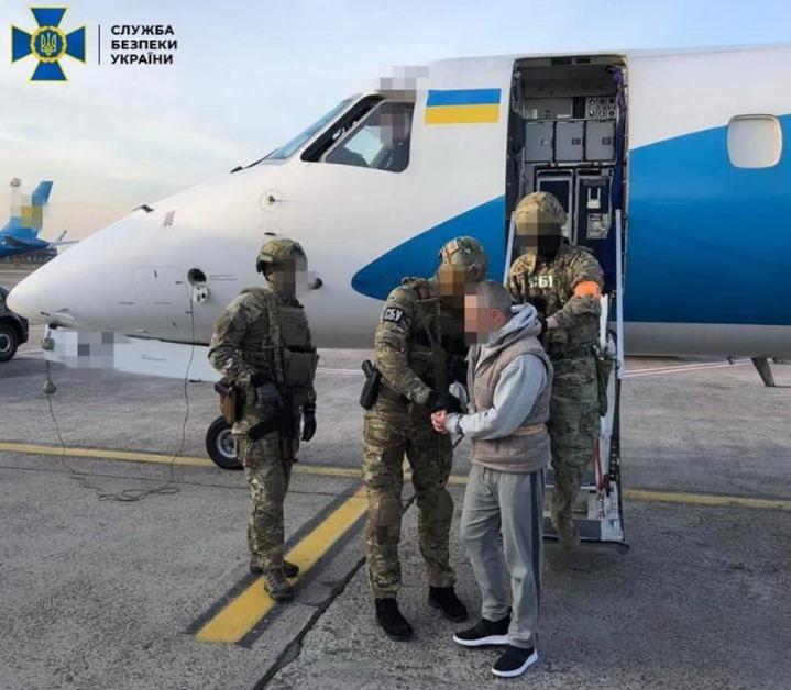 Левіна вже екстрадували в Україну