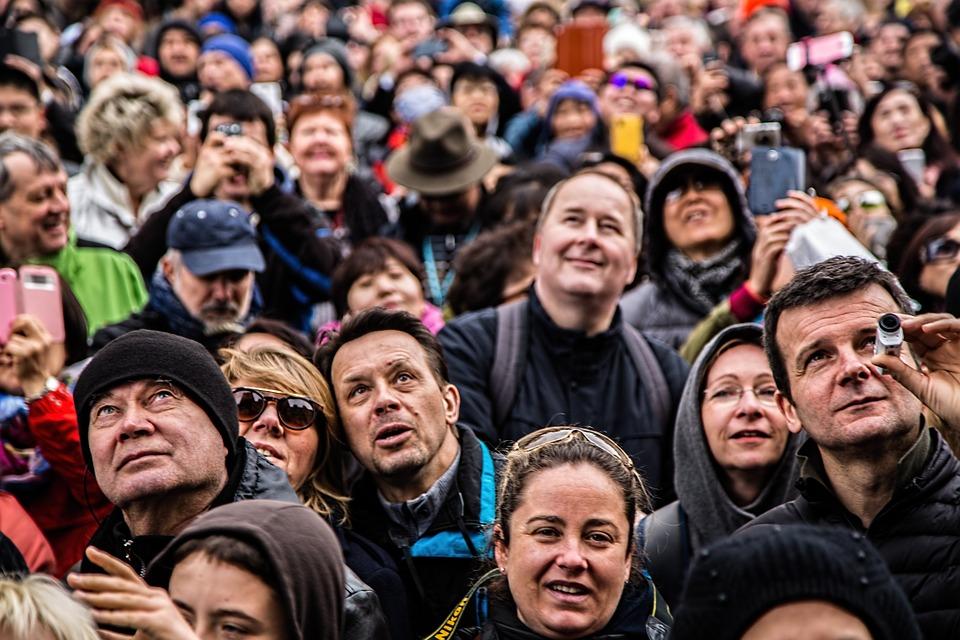 люди толпа