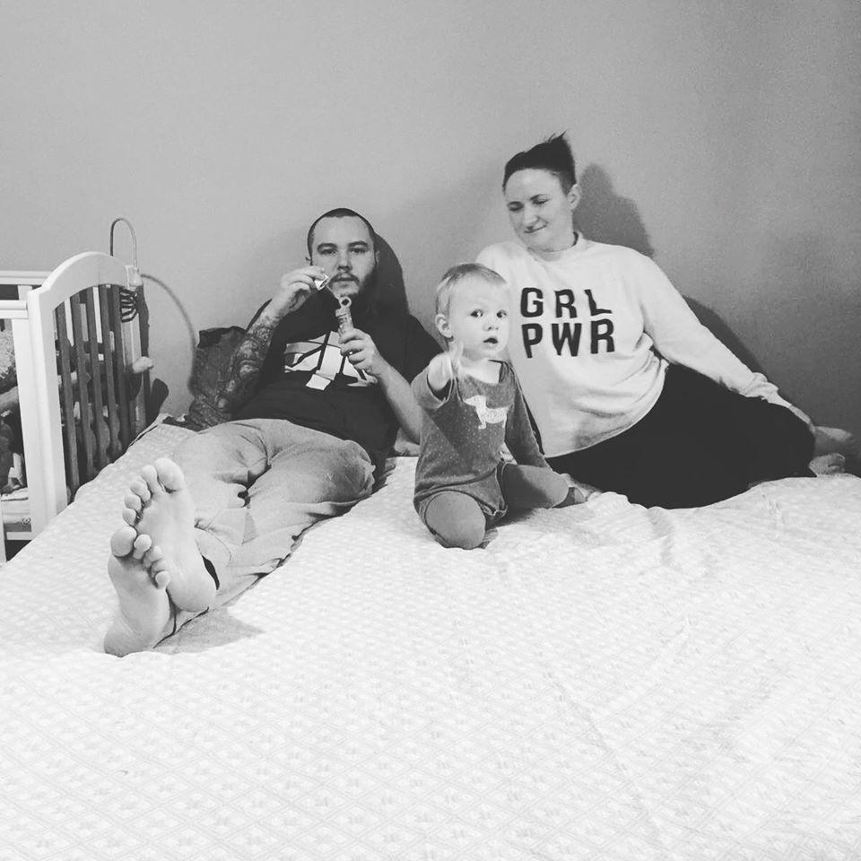 Ольга з чоловіком Ігорем і донькою Стасею