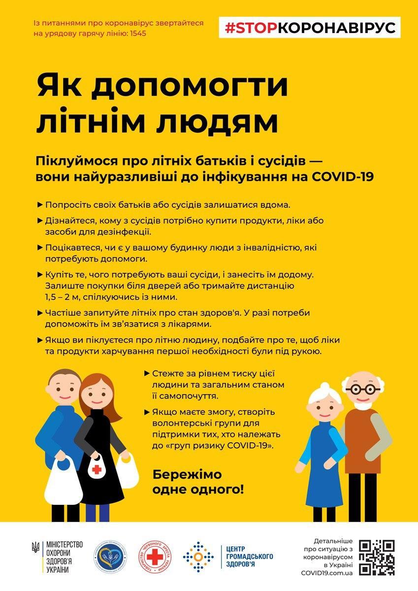 коронавірус літні люди