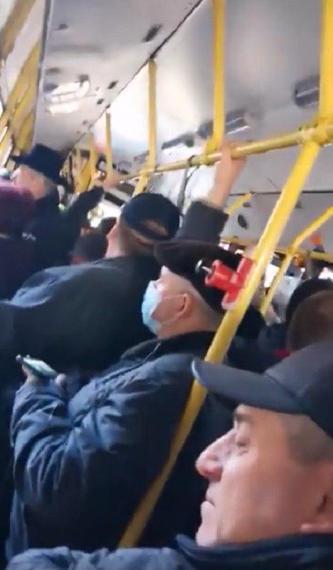Перший день без метро