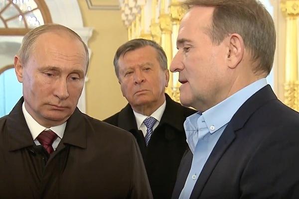 Медведчук у Кремлі