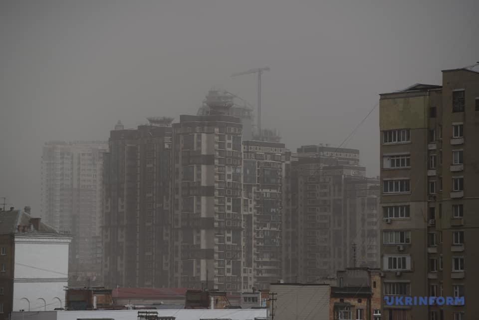 пылевая буря киев