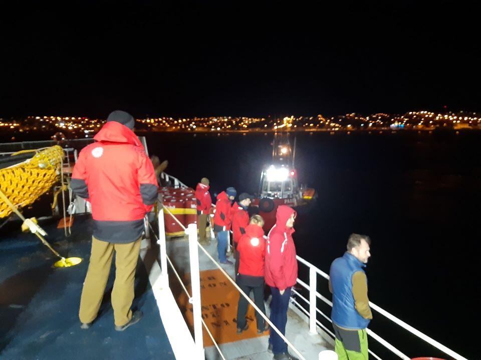 Українські полярники вирушили з Чилі до Антарктиди після двотижневої обсервації