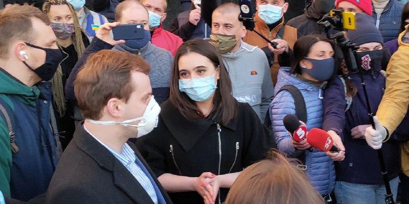 протест гандзюк
