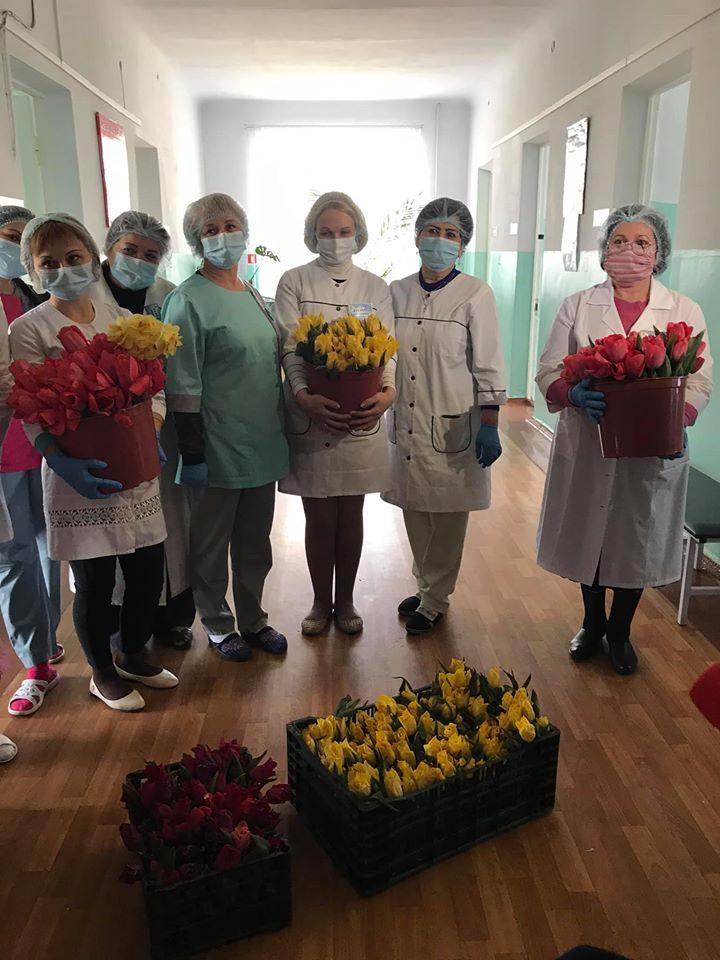 квіти медикам