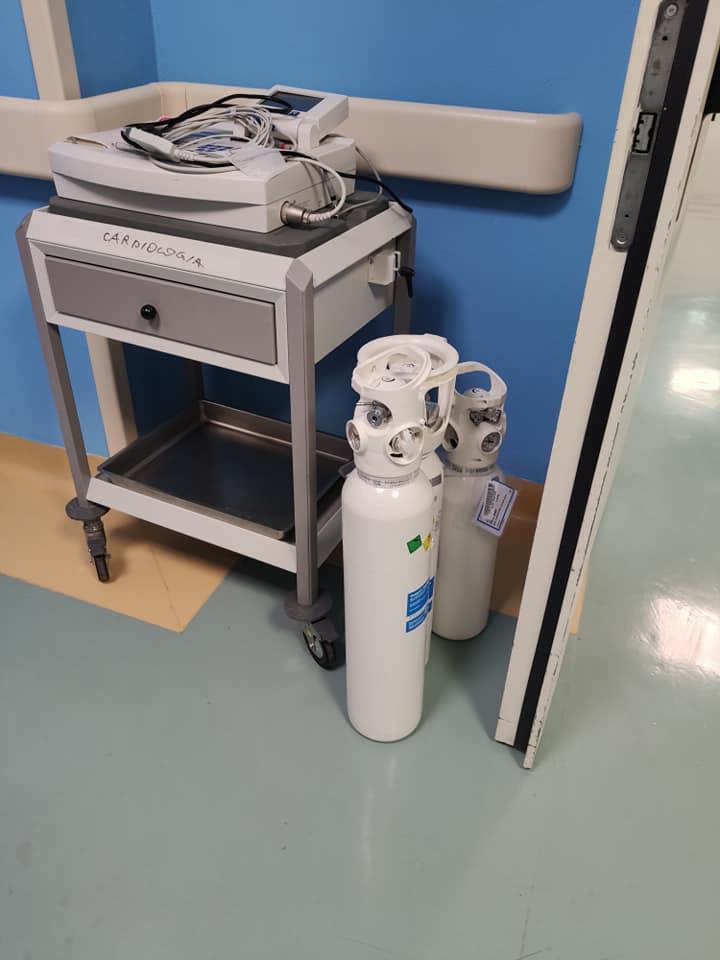 Український медик в Італії показав, як організовано робоче місце персоналу, який контактує з хворими на Covid-19
