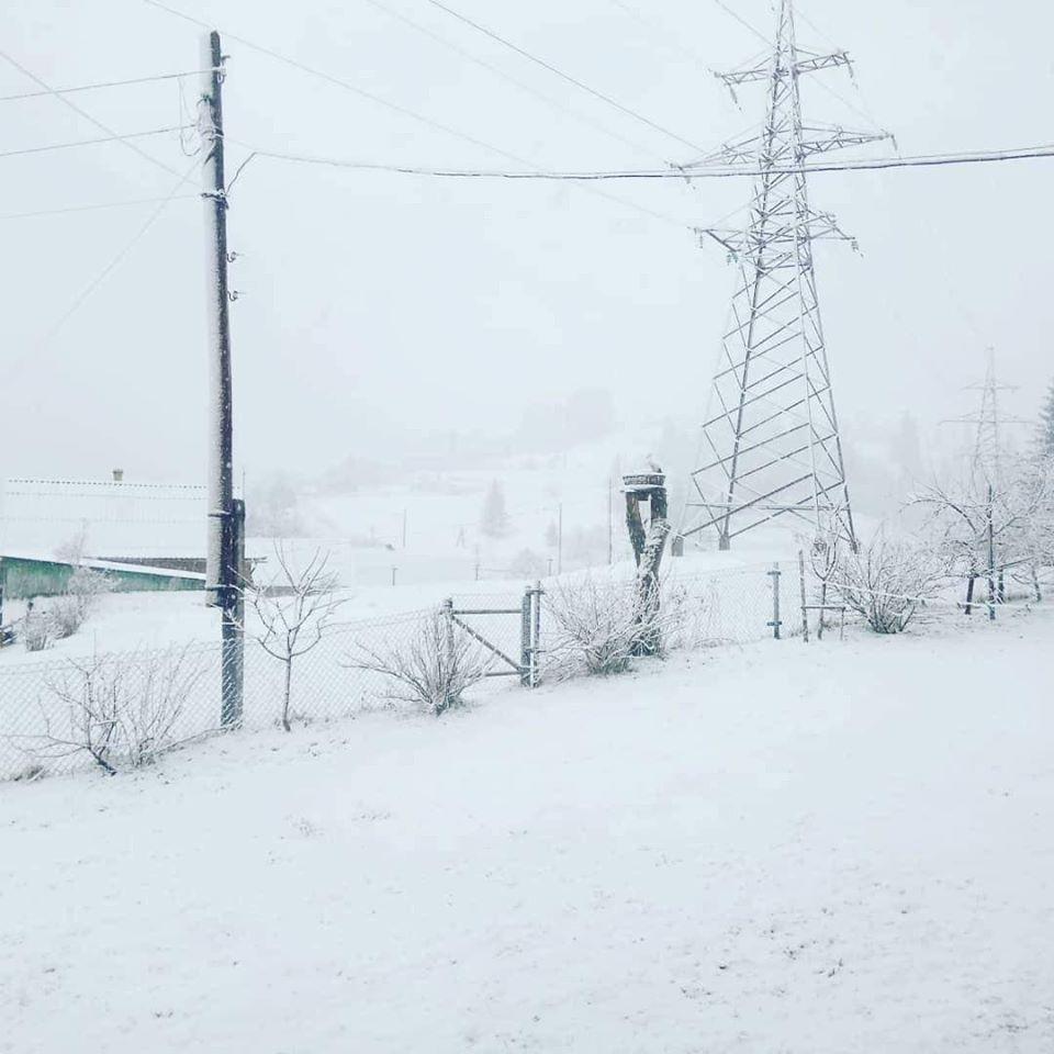 зима квітень