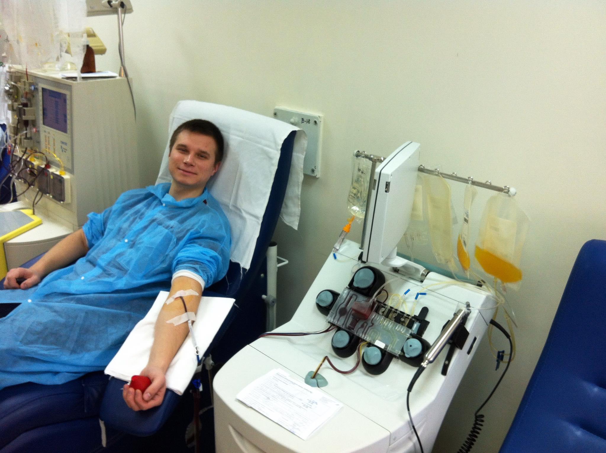 як здати кров