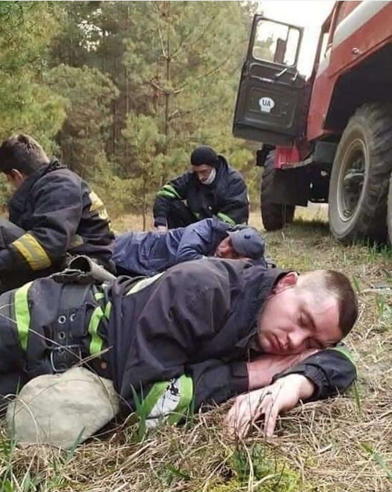 пожежі рятувальники