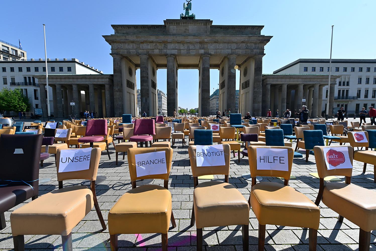 германия протест