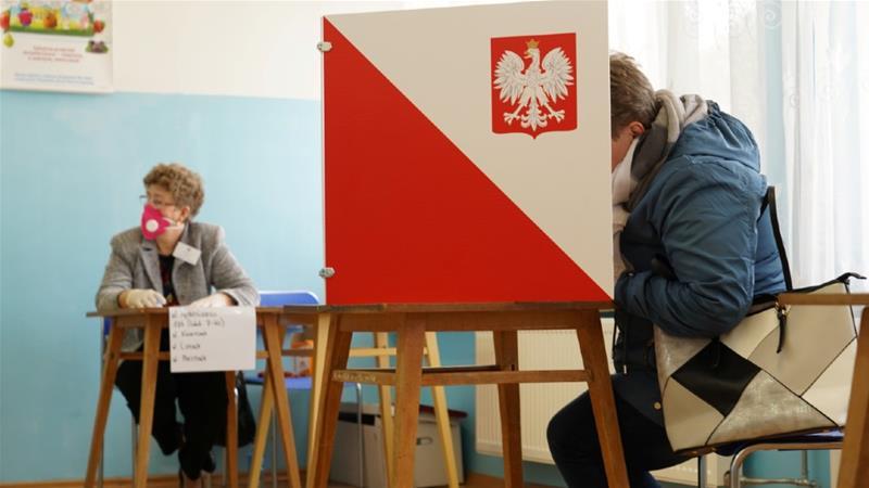 як Польща голосуватиме за президента на карантині