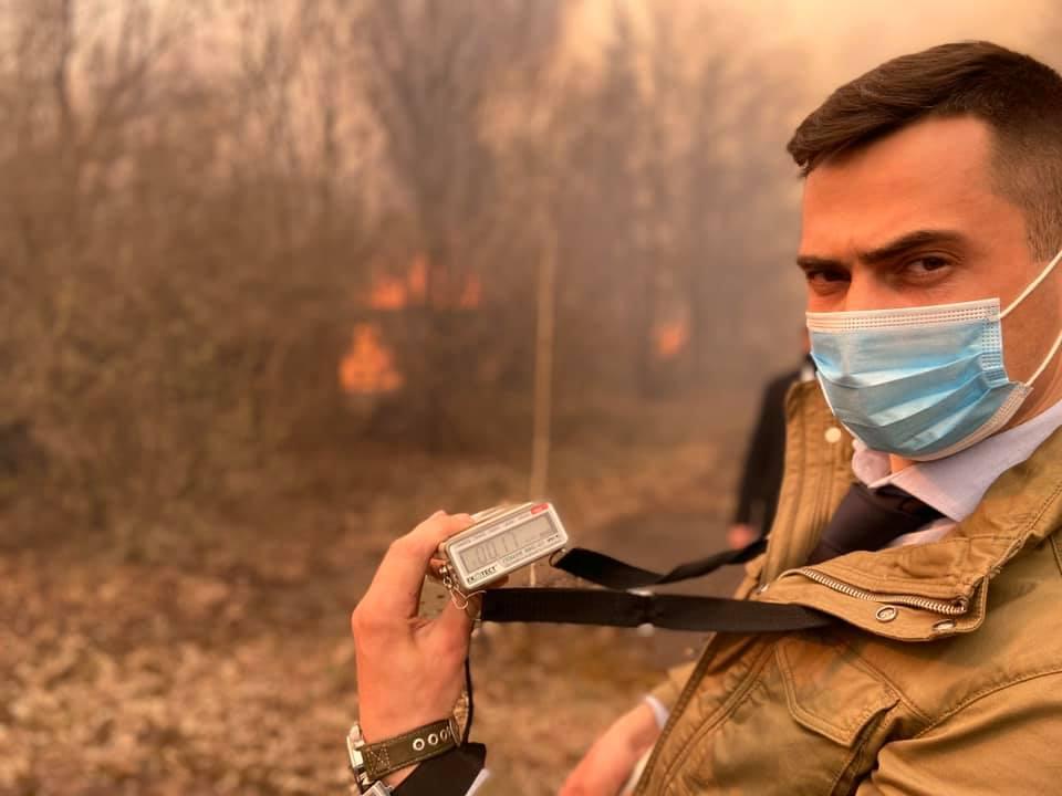 Єгор Фірсов пожежа у Чорнобилі