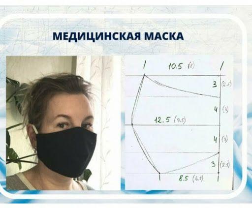 пошити маску