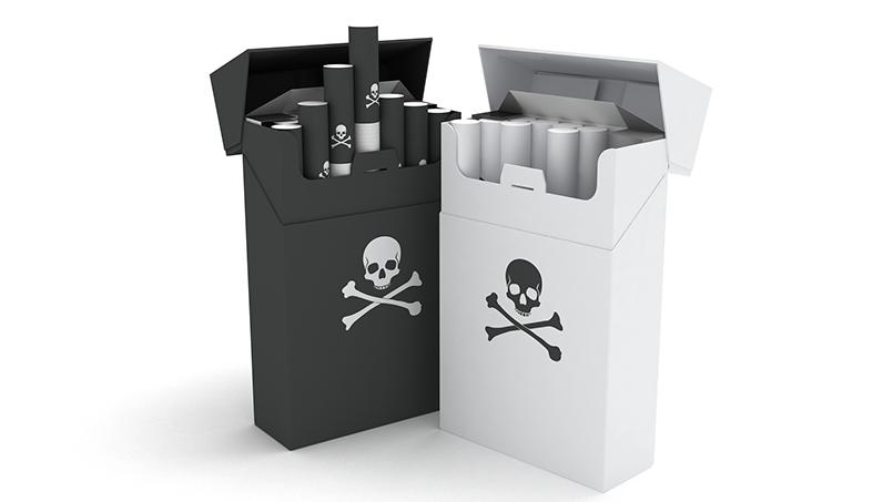 стандартизована упаковка сигарет