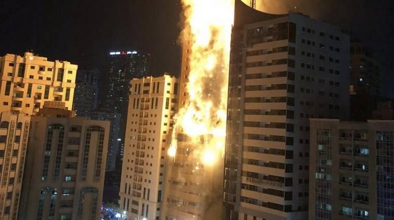 пожежа ОАЕ
