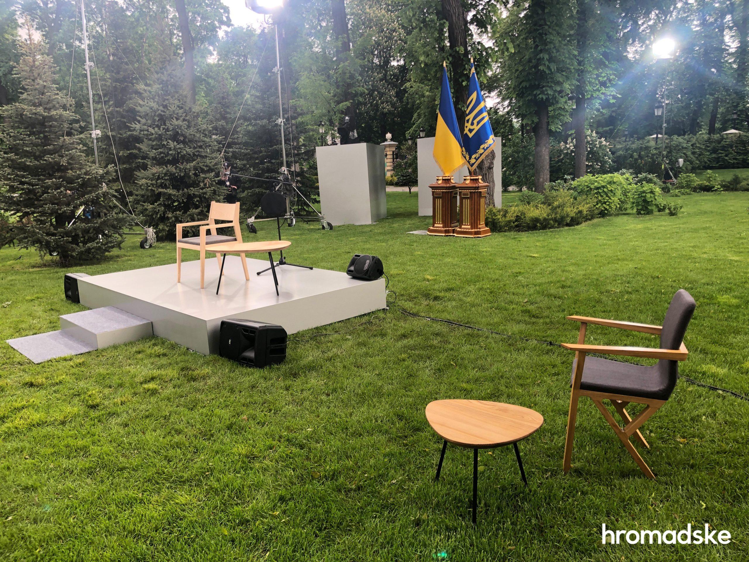 Зеленський сьогодні дає велику прес-конференцію в Маріїнському парку