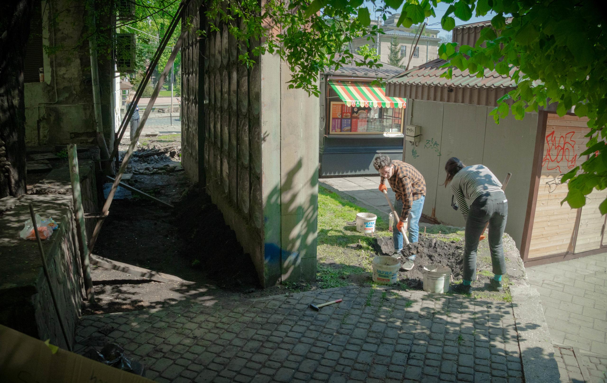 У Львові облаштували перший громадський дощовий садок