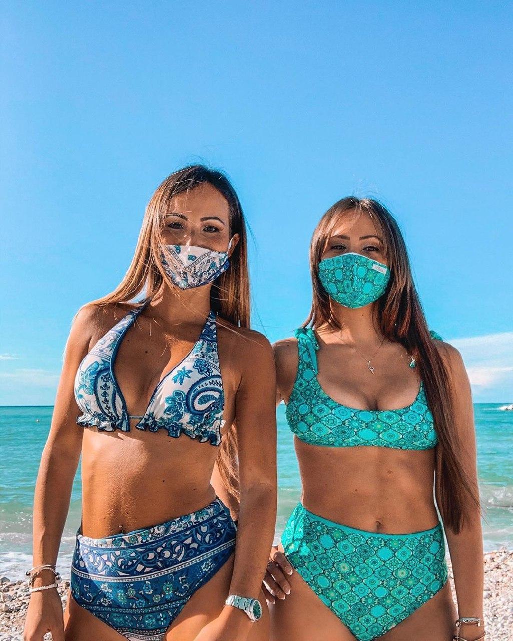 Коронавірусна мода: популярність набирає трикіні – бікіні з маскою ...
