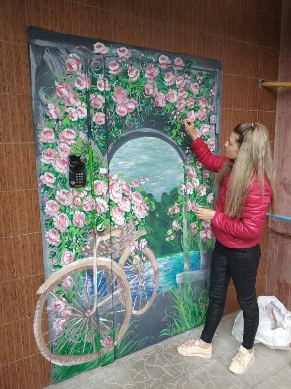 Херсонська професійна художниця Анна Волик
